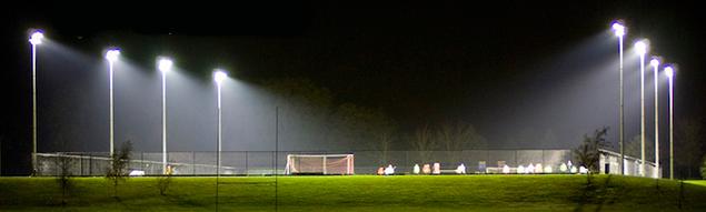 освещение для стадионов
