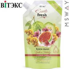 Витэкс - Exotic Fresh Жидкое крем-мыло 750ml Дой-пак Гуава и гибискус