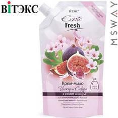 Витэкс - Exotic Fresh Жидкое крем-мыло 750ml Дой-пак Инжир и сакура
