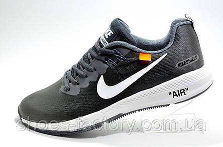 Мужские кроссовки в стиле Nike Air Zoom Shields X OFF-WHITE, Gray\Серые, фото 2