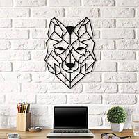 Объемная картина из дерева DecArt Wolf