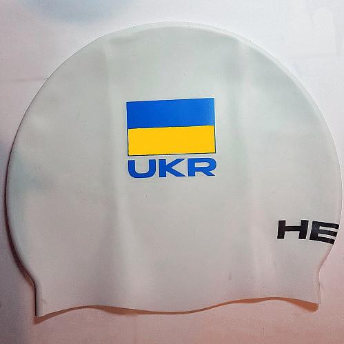 Шапочка для плаванья Head Cap Flat Ukrainian Federation