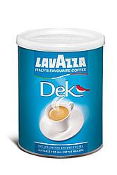 Кофе молотый Lavazza Decaffeinato 250гр., ж/б, Лавацца Оригинал Италия!