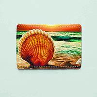 Картхолдер (обложка под карточки) из эко-кожи