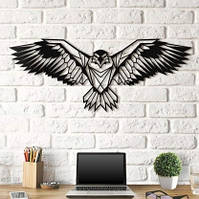 Об'ємна картина з дерева DecArt Eagle 110х45 см