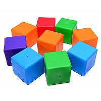 Кубики великі 9шт (25*25*8,5см) 020 Бамсік