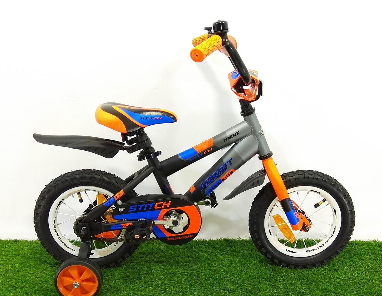 "Детский велосипед Azimut Stitch 14"""