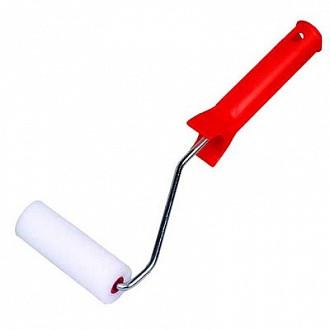 Валик с ручкой велюровый для эмалей Moltopren супермелкий 10 см диаметр 35 мм