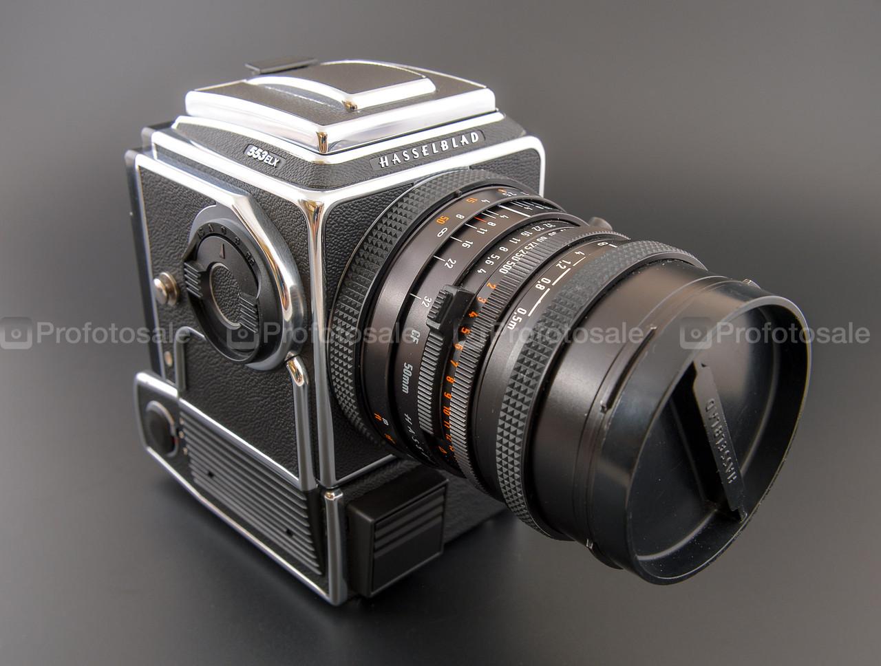 Hasselblad 553ELX + Zeiss Distagon 4/50mm