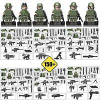 Конструктор Фигурки Отряд Джунгли Jungle Commandos (RE-jungle 2)