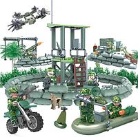 Конструктор Фигурки Отряд Джунгли Опорный Пункт Jungle Commandos