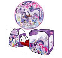 Детская Палатка с туннелем Пони 8015 PN, в сумке