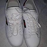 Кеды белые  Gucci, фото 4