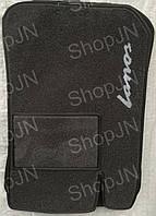 Ворсовые коврики Daewoo Lanos  ( черный)