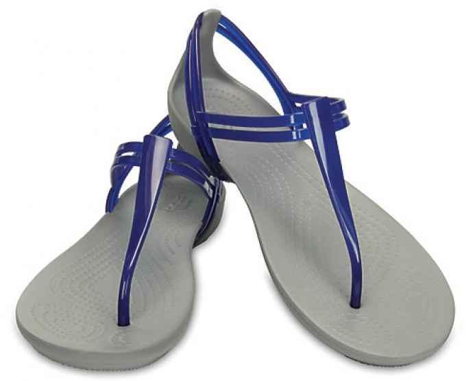 Босоножки женские вьетнамки Кроксы Изабелла Т-Страп оригинал / Crocs Women's Isabella T-Strap Sandal