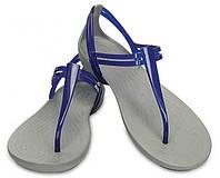 Босоножки женские вьетнамки Кроксы Изабелла Т-Страп оригинал / Crocs Women's Isabella T-Strap Sandal, фото 1
