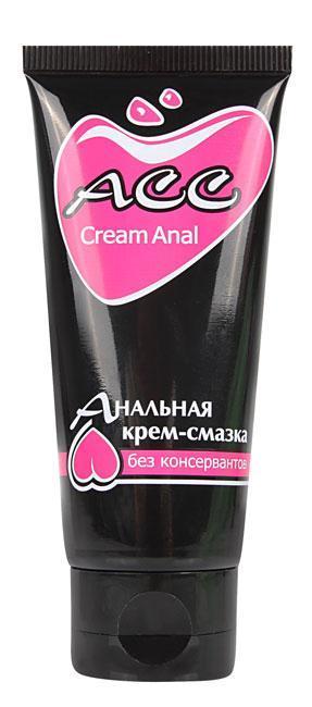 Крем-смазка силиконовая гигиеническая Creamanal АСС туб 50 г. Анальные смазки