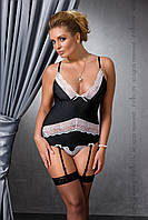 CAMILLE CORSET black 4XL/5XL - Passion