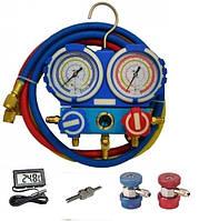 Коллектор (404а, 22, 134а, 407с) + муфты для а/с + отвертка+ термометр