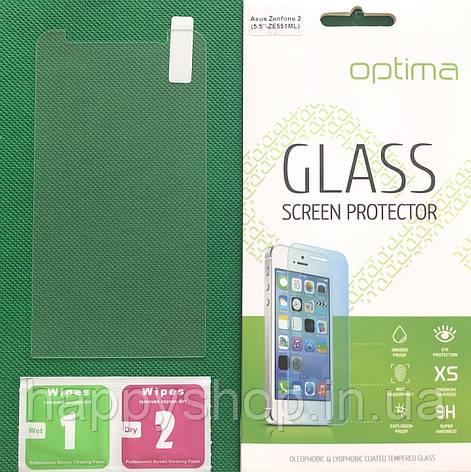 "Защитное стекло для Asus Zenfone 2 (5.5""-ZE551ML), фото 2"