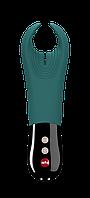 Вибратор для члена Manta Fun Factory темно-зеленый. Мужской вибратор для пениса