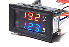 Цифровой вольтметр амперметр DC 100V 10А с шунтом амперметр вольтметр №1