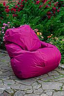 Кресло груша мешок бескаркасное кресло пуф XL Оксфорд бордо