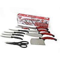 Набор кухонных ножей контур про с магнитной рейкой 11 предметов Contour Pro Knives 130337, фото 1