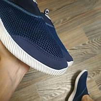 ТОЛЬКО 44 РАЗМЕР Мужские аквашузы кроссовки сетка кроссовки носки на подошве мягкие летние дышащие, фото 3