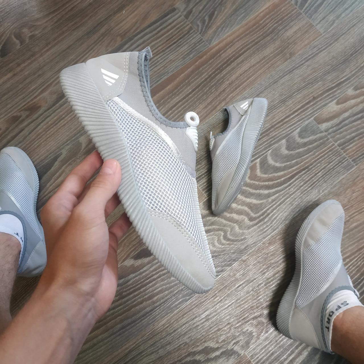 Чоловічі аквашузы тапочки для пляжу пляжне взуття для коралов коралки для дайвінгу акваобувь сірі