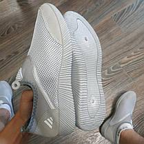 Чоловічі аквашузы тапочки для пляжу пляжне взуття для коралов коралки для дайвінгу акваобувь сірі, фото 3