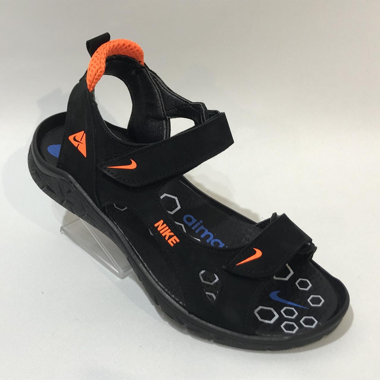 Мужские кожаные сандалии Nike р. 40 последняя пара