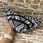 Сумка на пояс (бананка) текстиль , фото 4