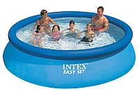 Надувной  Бассейн  INTEX  28130 размером  366 х 76 см / объем 5621 л.