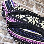 Сумка на пояс (бананка) текстиль , фото 3
