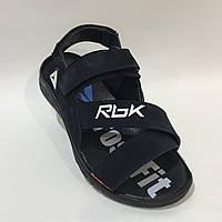 Мужские кожаные сандалии в стиле Reebok, фото 1