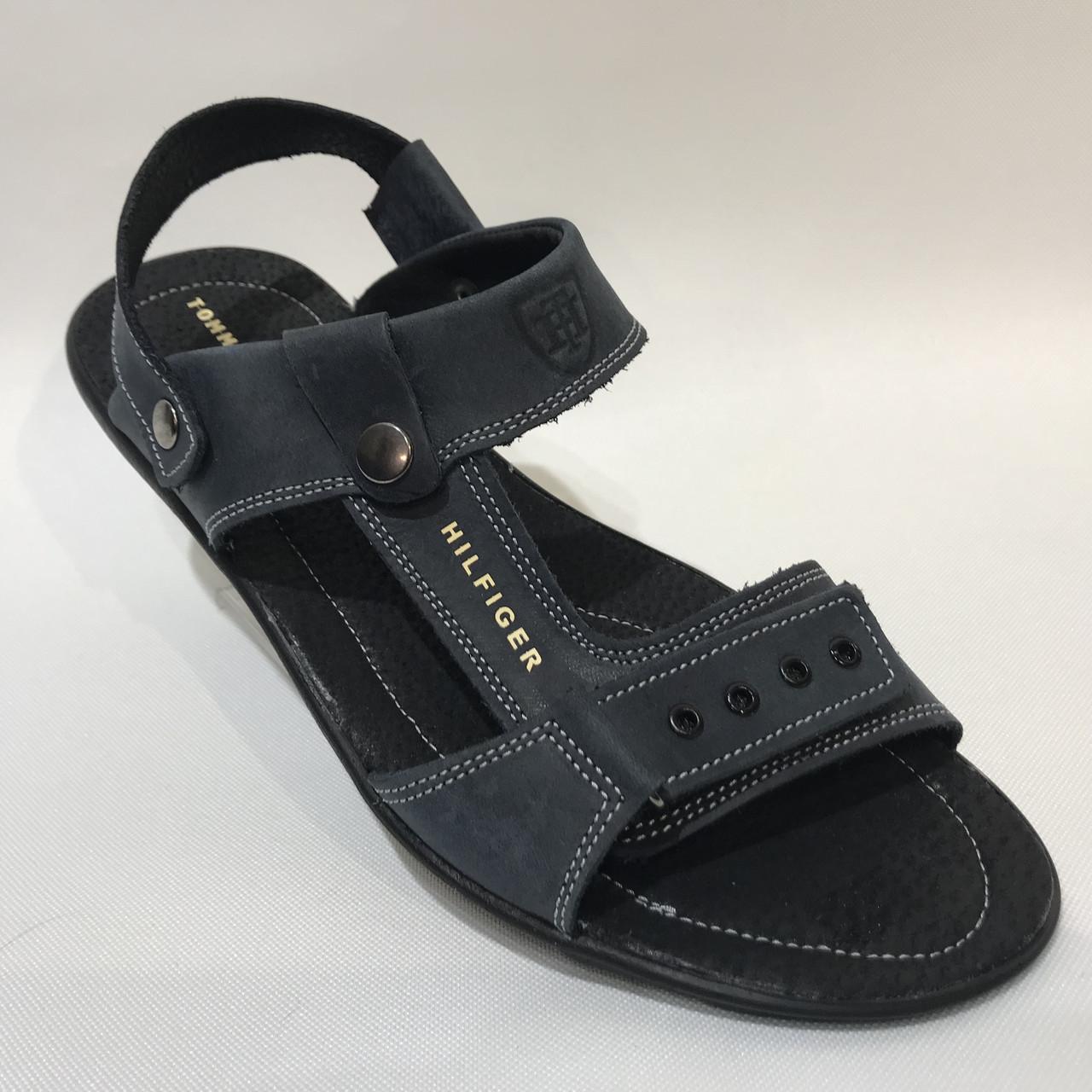 Мужские кожаные сандалии в стиле Tommy Hilfiger 41, 44, 45