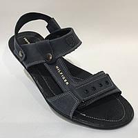 Мужские кожаные сандалии в стиле Tommy Hilfiger 41, 44, 45, фото 1