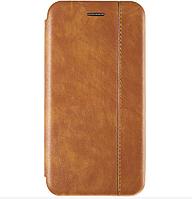 Чехол-книжка Gelius Leather для Xiaomi Redmi Note 6 Pro (Коричневый)