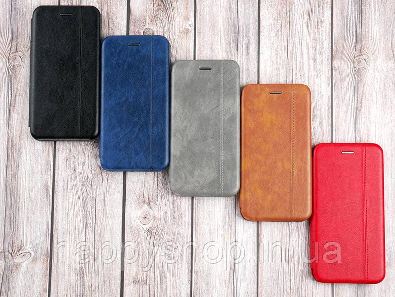 Чехол-книжка Gelius Leather для Apple iPhone X (Коричневый)