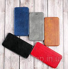 Чехол-книжка Gelius Leather для Apple iPhone X (Коричневый), фото 3