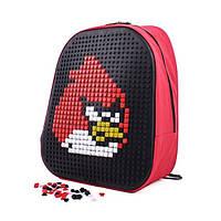 Детский рюкзак CRM Canta. Школьный ранец конструктор Angry Birds