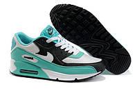 Кроссовки женские Nike Air Max 90 бирюзовые