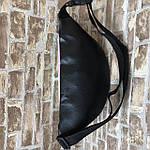 Жіноча сумка на пояс, бананка, поясна сумка, барыжка голографічна, фото 5
