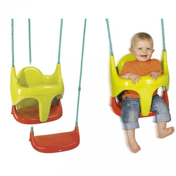 Качели детские пластиковые подвесные на тропах со съемным сиденьем Smoby 310194