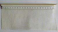 Приоконный профиль ПВХ 6мм 2,5м с сеткой и манжетой белый