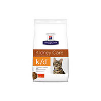 Корм Hills Prescription Diet Feline k/d Kidney Care 1,5кг - для кошек почечная недостаточность