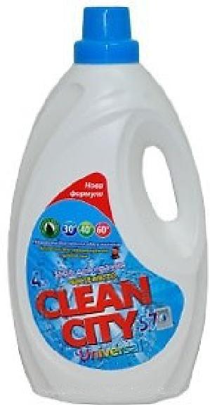 Гель для стирки Clean city Универсал (4л.)