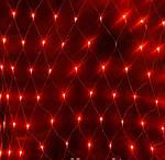 Новорічна світлодіодна гірлянда сітка. Електричні гірлянди led