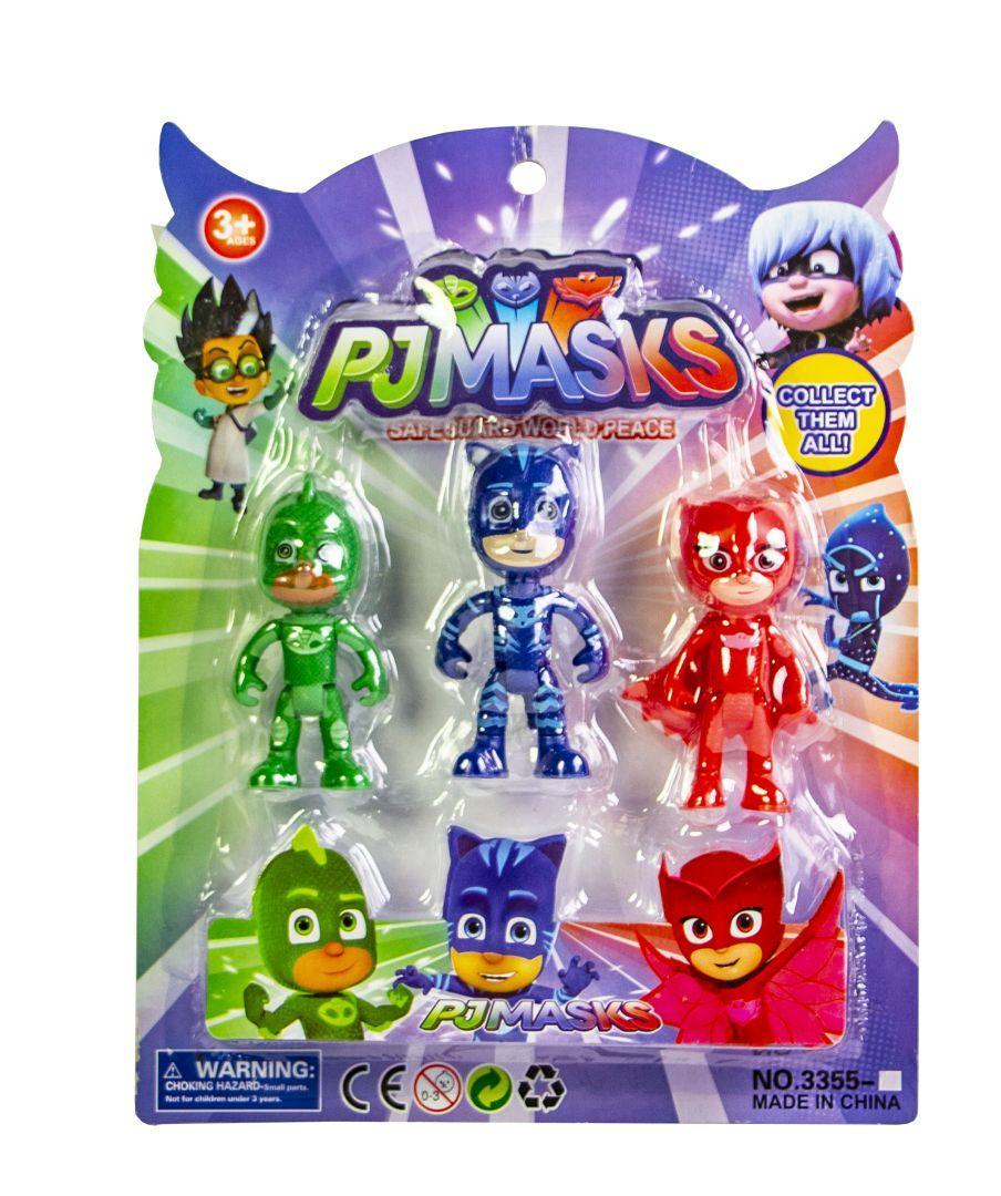 Игровой набор мультяшных героев в блистере